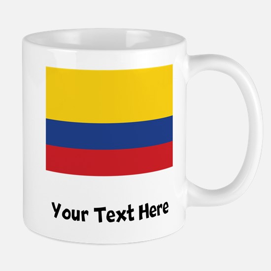 Colombian Flag Mugs