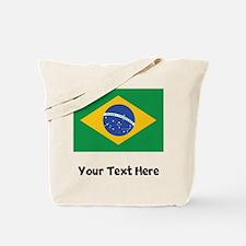 Brazilian Flag Tote Bag
