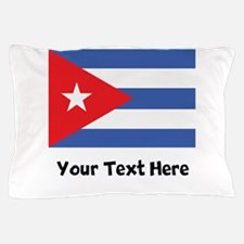 Cuban Flag Pillow Case