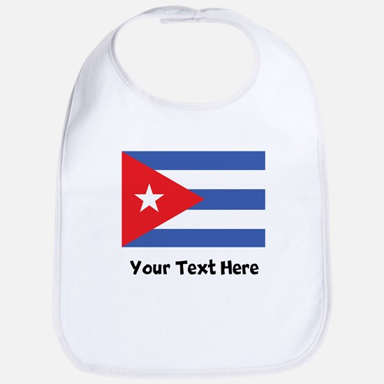 Cuban Flag Bib
