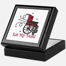 Fast Wheelchair Keepsake Box