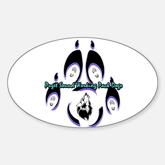 Puget Sound Working Pack Dogs Logo Decal