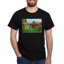 Golfing Frogs T-Shirt