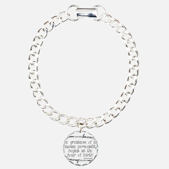 Funny Education Charm Bracelet, One Charm