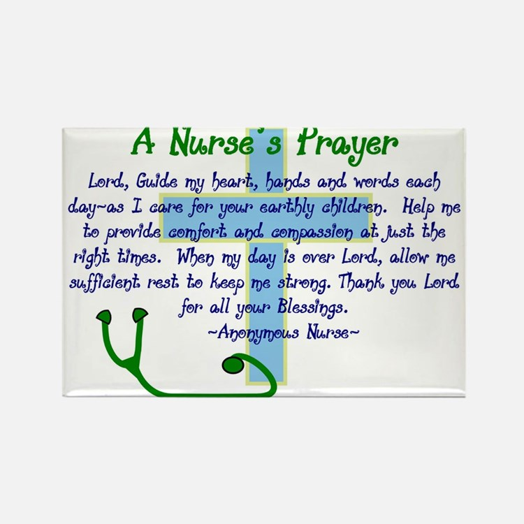 Cute Nursing student Rectangle Magnet (10 pack)
