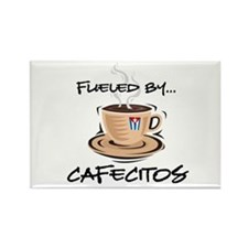 Fueled by Cafecitos Rectangle Magnet