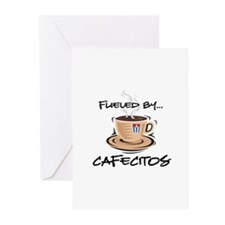 Fueled by Cafecitos Greeting Cards (Pk of 10)