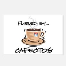 Fueled by Cafecitos Postcards (Package of 8)