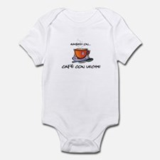 Cafe con Leche 2 Infant Bodysuit