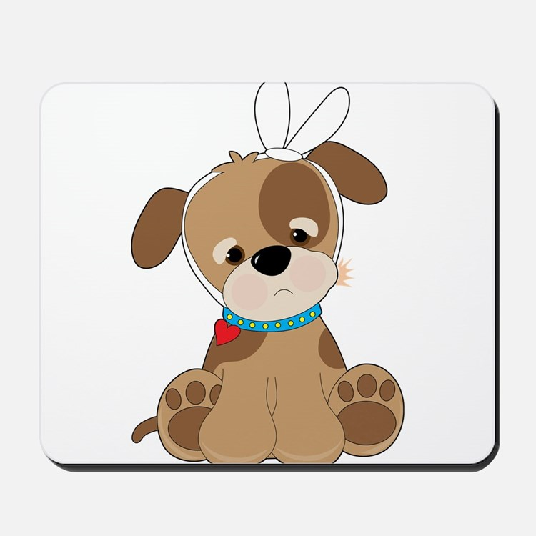 Puppy Toothache Mousepad
