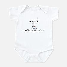 Raised on Café con Leche Infant Bodysuit