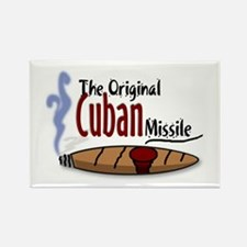Original Cuban Misile Rectangle Magnet