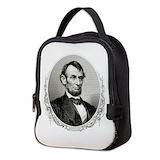Abraham lincoln Neoprene Lunch Bag