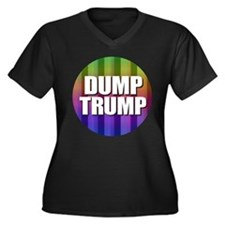 Dump Trump Plus Size T-Shirt