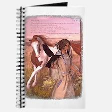 Unique American paint horse Journal