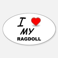 ragdoll love Decal