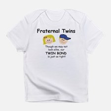 Unique Mom of twins Infant T-Shirt