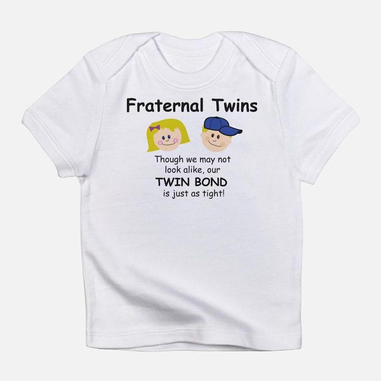 Cute Mom twins Infant T-Shirt