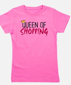 Unique Shopaholic Girl's Tee