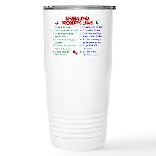 Unique Shiba Travel Mug