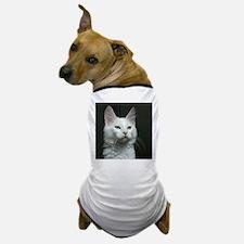 turkish angora two colored eyes white Dog T-Shirt