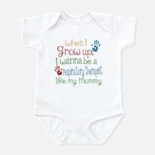 Respiratory Therapist Like Mommy Infant Bodysuit