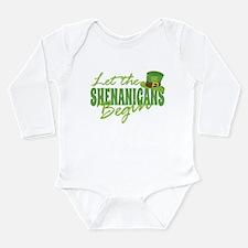Funny St patricks day Long Sleeve Infant Bodysuit