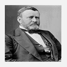 President Ulysses S Grant Tile Coaster