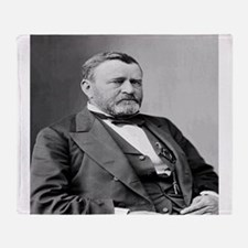 President Ulysses S Grant Throw Blanket