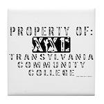 Transylvania Community Colleg Tile Coaster