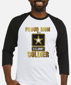 Cute Proud army mom of son Baseball Jersey
