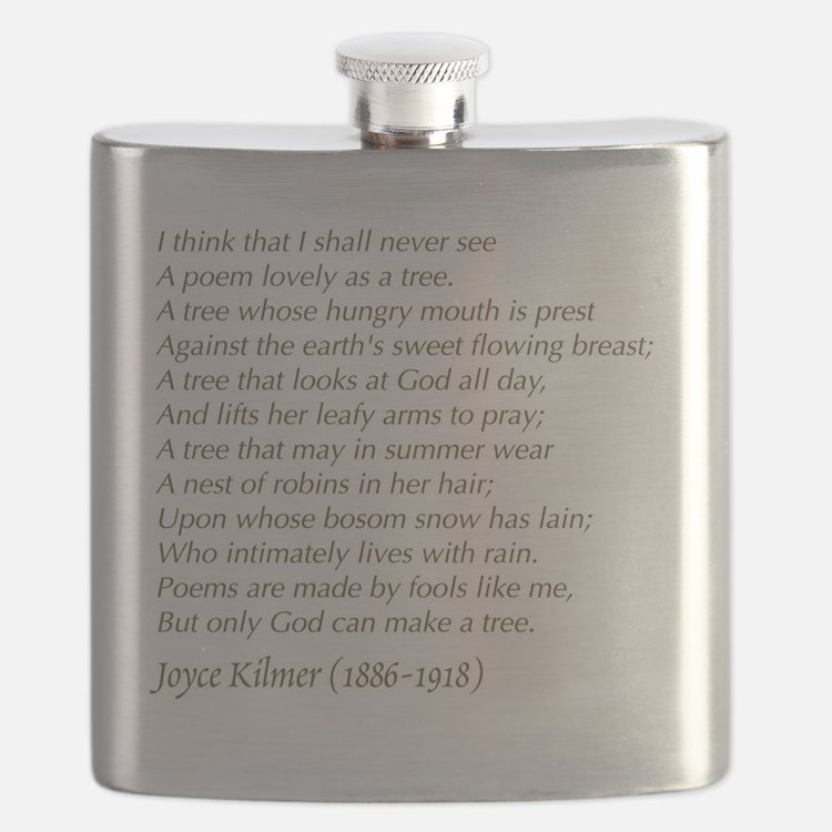 Cute Tree poem Flask