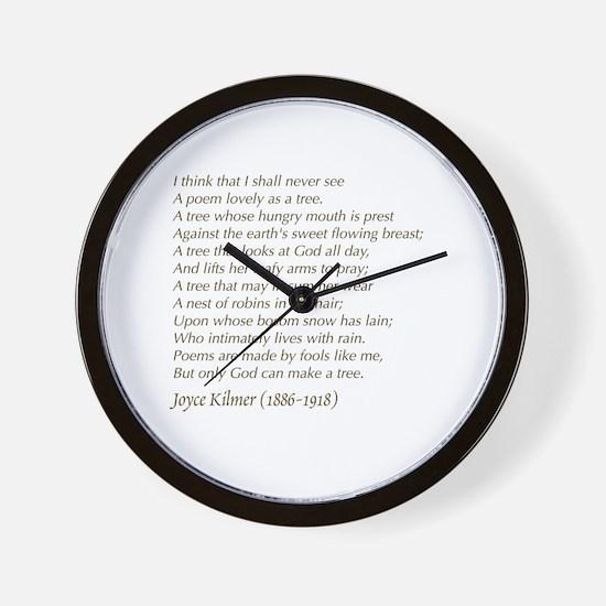 Cute Him Wall Clock