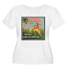 Vintage Florida Cowboy Fruit T-Shirt