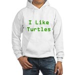 I Like Turtles Hooded Sweatshirt