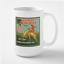 Vintage Florida Cowboy Fruit Mug