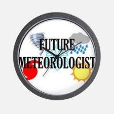 Future Meteorologist Wall Clock