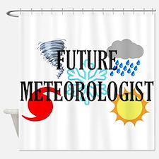 Future Meteorologist Shower Curtain
