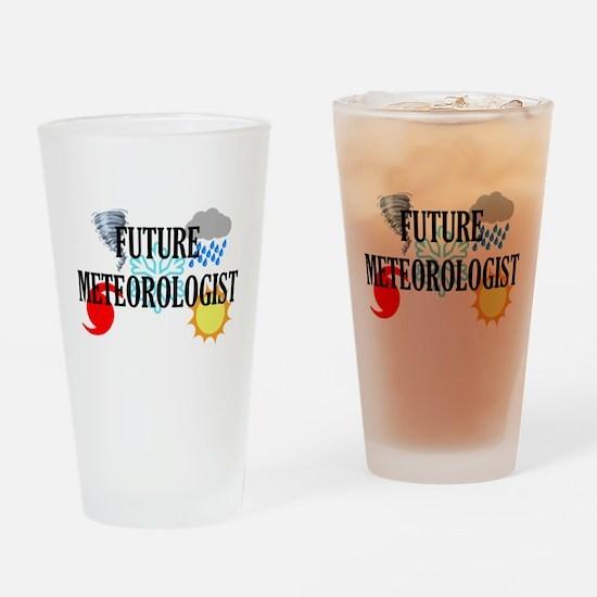 Future Meteorologist Drinking Glass