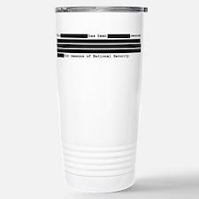 Funny Security Travel Mug