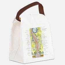 Unique Environment Canvas Lunch Bag