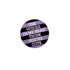 Funny Punk Mini Button (10 pack)