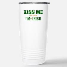 Kiss Me! Stainless Steel Travel Mug