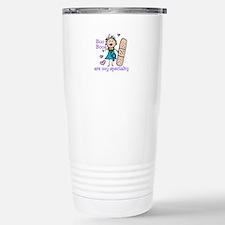Lady Nurse Travel Mug