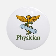 Physician Round Ornament