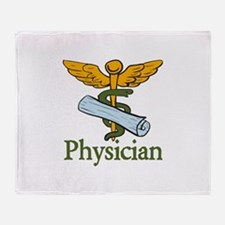 Physician Throw Blanket