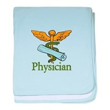 Physician baby blanket