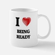 being ready Mugs