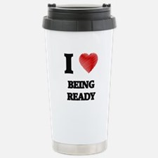 being ready Travel Mug