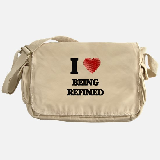 being refined Messenger Bag